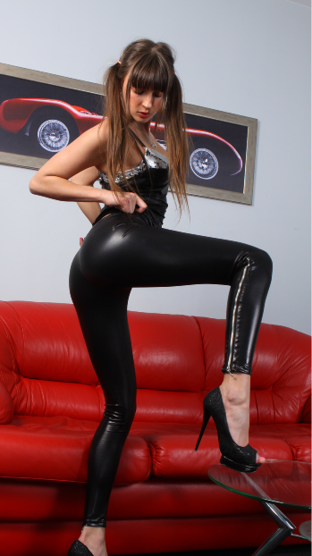Shiny spandex galleries